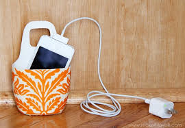decorative charging station diy charging station 5 projects bob vila
