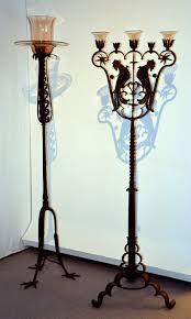 candelieri in ferro battuto galleria d arte moderna palazzo cumano sec xvi xvii feltre