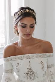 wedding crowns rosebury beaded wedding crown gold wedding crowns