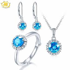 topaz gemstone rings images Hutang natural december birthstone blue topaz solid 925 sterling jpg