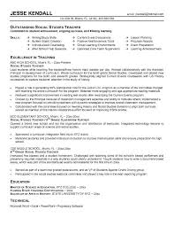 Example Of A Student Resume by Inspiring Special Education Teacher Objective For Resume 42 On