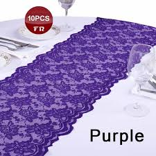 lace table runners wholesale wholesale 10pc lace table runner 13 5 x108 wedding party banquet