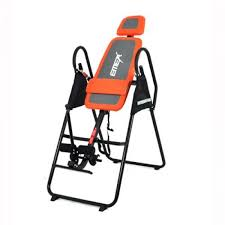 inversion table exercises for back emer deluxe foldable gravity inversion table review