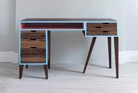 gaming desk plans custom electric sit stand gaming desk diy youtube idolza
