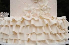 rustic barn wedding venue with vintage inspired 3 tier wedding cake