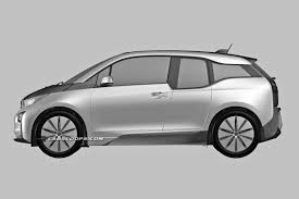 image bmw i3 production version of bmw i3 revealed in patent drawings