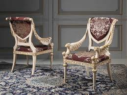 furniture royal classic chair design in classy living room with