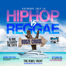 New York Ny Events U0026 Things To Do Eventbrite Hip Hop Vs Reggae Booze Cruise Tickets Sat Jul 15 2017 At 11 30