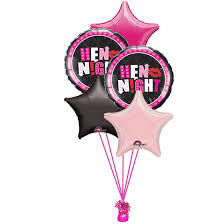 party balloons delivered helium filled hen balloon bouquet delivered