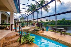 poolside designs poolside paradise dramatic designs naples illustrated