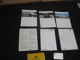bmw e60 owner u0026 039 s manual book set oem 550i 545i 530i 525i
