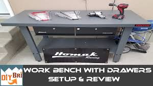 Bench Metal Work Metal Work Bench Homak Review U0026 Setup Youtube