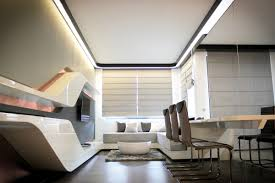 futuristic wood virtual interior art on site
