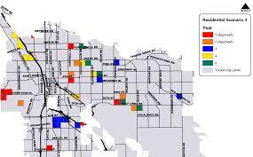 Uofa Map Sam Hughes Neighborhood Association Tucson Arizona