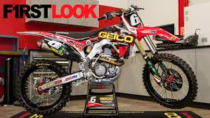 motocross bike shops first look jeremy martin u0027s geico honda crf250r motocross