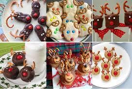 7 reindeer shaped treats cookies donuts cupcakes pancakes