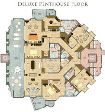 luxury home floorplans image result for penthouse floor plan with pool home floorplans