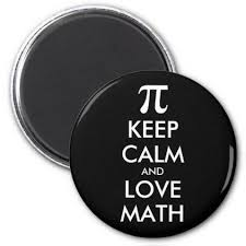 Customize Meme - customizable internet meme keep calm and love math magnet college