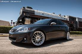 lexus is250 niche wheels this lexus is 250 with blaque diamond wheels is clean and classy