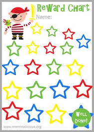reward chart template for kids kiddo shelter printable reward