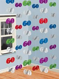 60th birthday party decorations 60th birthday party decorations hanging swirls decoration buy