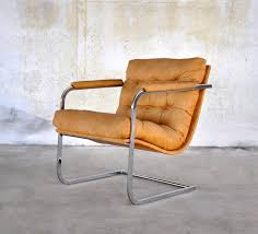Oversized Lounge Chair Select Modern Mid Century Modern Chrome Cantilever Scoop Lounge Chair