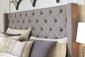 sorinella queen upholstered headboard ashley furniture homestore