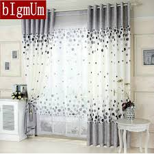 new arrival kitchen curtains blue gray window curtains for living