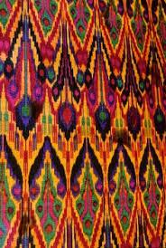 uzbek ikat panel 1900s antique rugs and textiles pinterest