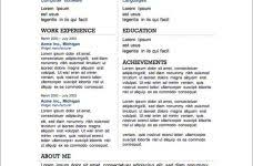 interesting ideas great resume templates gorgeous sample