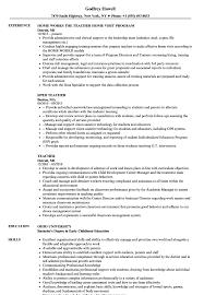teaching resume exles resume sles velvet