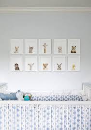 Animal Wall Decor For Nursery Wall Decor Ideas Attractive Created Animal Nursery Wall
