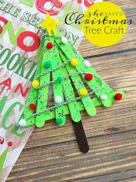 Easy Christmas Crafts For Toddlers To Make - simple popsicle christmas tree craft project she saved tree