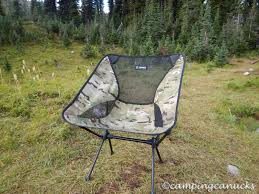 Helinox Chairs Helinox Chair One Review The Camping Canucks