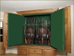 Glass Gun Cabinet Wooden Gun Cabinets Wood Cabinet With Etched Glass Monumental