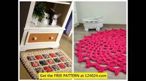 Crochet Oval Rag Rug Pattern Crochet Oval Rug How To Crochet A Floor Rug Easy Crochet Rag Rug
