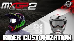 ufo motocross helmet mxgp 2 rider customization youtube