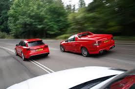 audi rs6 vs vauxhall maloo vs audi rs6 vs range rover sport svr test