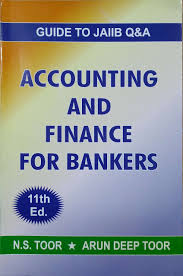 buy accounting and finance for bankers guide to jaiib q u0026a book