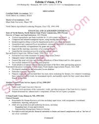 resume format for accountant resume for a certified accountant cpa susan ireland resumes