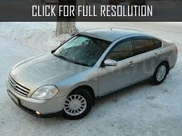 nissan teana 2 0 2004 technical specifications interior and