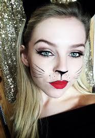 black cat halloween makeup bethan horton youtube
