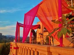 Chiffon Ceiling Draping Indian Wedding Stage Decor Wholesale Click Here One Stop Party