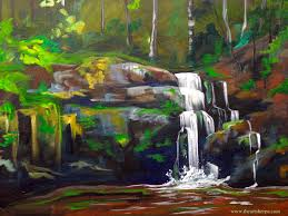 serenity falls the full online lesson by the art sherpa https