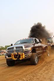 Dodge Cummins Truck Pull - all night america small town sled pull gets wild