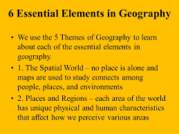 5 themes of geography acronym the five themes of geography mrs dent world regional studies honors