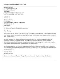 how to write a cover letter for an accounts payable position