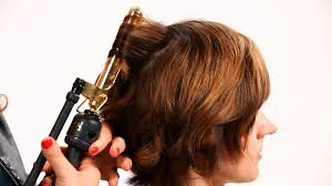 using curling iron on short hair pt 1 short hairstyles youtube