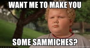 Dirty Santa Meme - want me to make you some sammiches dirty santa kid sammiches