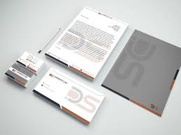 modern conservative stationery design for philippe saade by